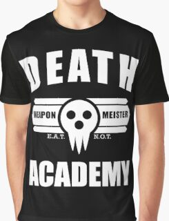 Death Weapon Meister Academy (White) Graphic T-Shirt