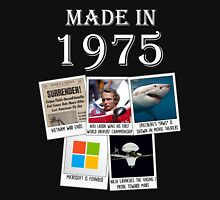 Made in 1975, main events Unisex T-Shirt