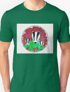Badger Family Christmas T-Shirt