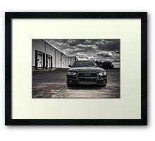 2012 Audi A4 S-Line Framed Print