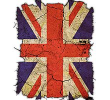 "Ragged Britannia ""Union Jack"" #1 iPad Case by Steve Crompton"