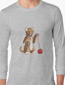 Playful cougar Long Sleeve T-Shirt