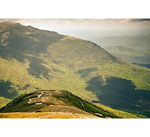 Mt. Washington Auto Road From The Top Photographic Print