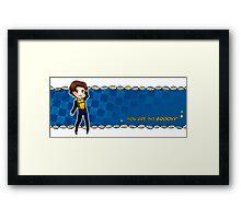 You are so groovy! (Mutant Mug: Charles) Framed Print