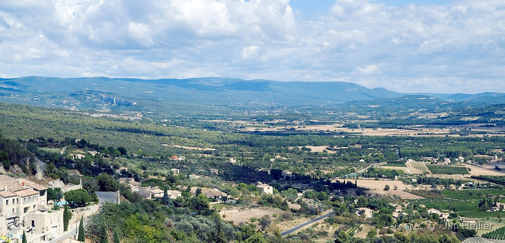 Gordes and the Petit Luberon by Jim Hellier