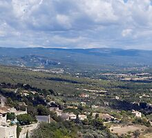Gordes and the Petit Luberon 2 by Jim Hellier