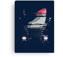 Scania Trucker Canvas Print