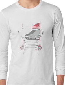 Scania Trucker Long Sleeve T-Shirt
