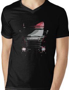 Scania Trucker Mens V-Neck T-Shirt