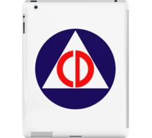 Civil Defence iPad Case/Skin