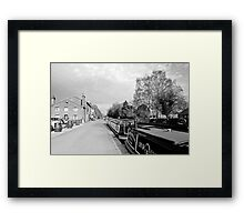 Boats at Fradley Junction  Framed Print