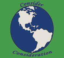 Consider World Consideration  One Piece - Short Sleeve