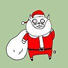 Santa Cat by jrock1184