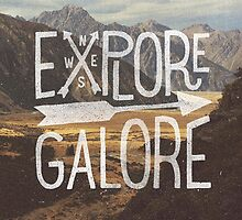 Explore Galore by cabinsupplyco