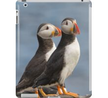 Mr & Mrs Puffin iPad Case/Skin