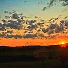 Amazing Sunset II by Nicolas Goulet