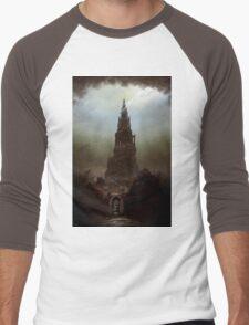 Frankenstein's Castle Men's Baseball ¾ T-Shirt