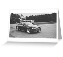 2012 Audi A4 S-Line Greeting Card