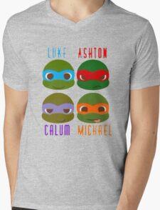 5 seconds of summer ninja turtles Mens V-Neck T-Shirt