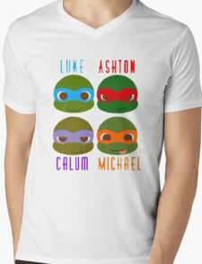 5 seconds of summer ninja turtles T-Shirt