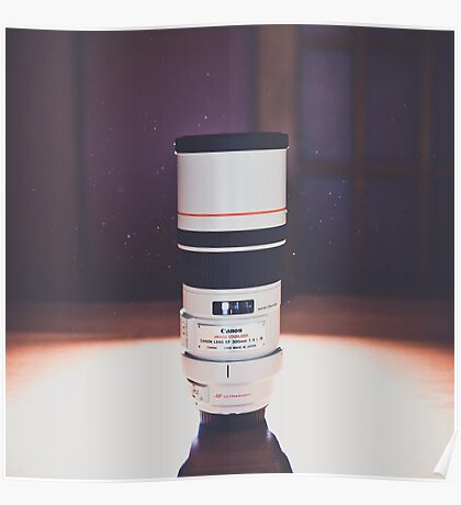 Canon 300mm f/4L USM Poster