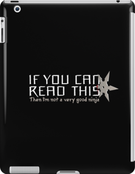 If You Can Read This by Made With Awesome