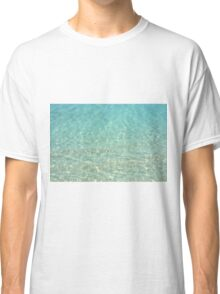 Colors of the Sea Water - Clear Turquoise Classic T-Shirt