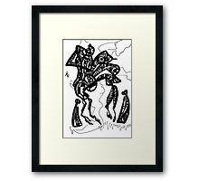 046 Framed Print