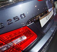 Mercedes-Benz E 250 Turbo Coupé Back [ Print & iPad / iPod / iPhone Case ] by Mauricio Santana