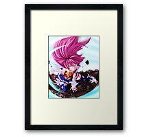 Fairy Tail-Wendy Marvel-Full Graphic Shirt Framed Print