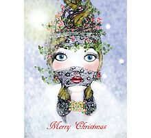 Ivy Holly Card Photographic Print