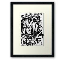 049 Framed Print