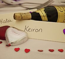 miniature wedding table favours by max  randall