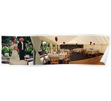 wedding marquee Poster