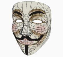 V for Vendetta Mask Kids Clothes