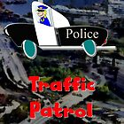 Police - Traffic Patrol by Dennis Melling