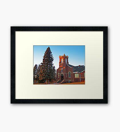 East Nidaros - Fall Framed Print