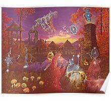 """""""Autumn Twilight II"""" Poster"""