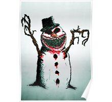 Evil Snowman Poster