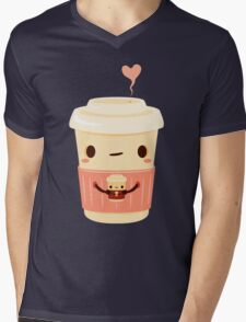 Coffee Coffee Mens V-Neck T-Shirt