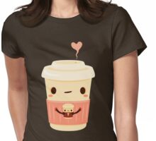 Coffee Coffee Womens Fitted T-Shirt