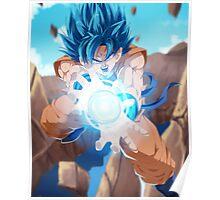 Goku Full Graphic Tee Poster