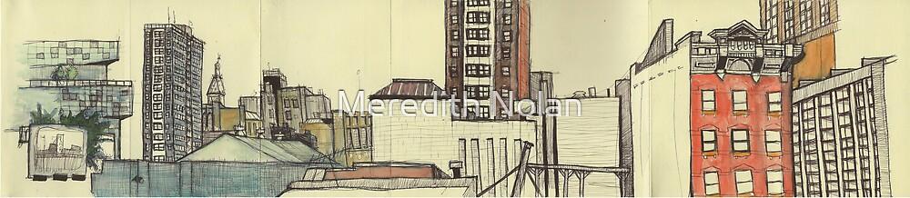 City Panoramic by Meredith Nolan