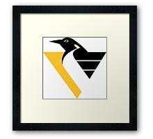 Penguin Pittsburgh Sport Framed Print