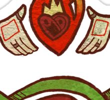 Claddagh Design Sticker