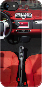 Smart ForTwo Turbo Cabrio Tritop Inside [ Print & iPad / iPod / iPhone Case ] by Mauricio Santana