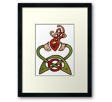Claddagh Design Framed Print