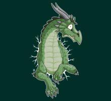 STUCK - Green Dragon by tanidareal
