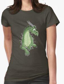 STUCK - Green Dragon Womens Fitted T-Shirt