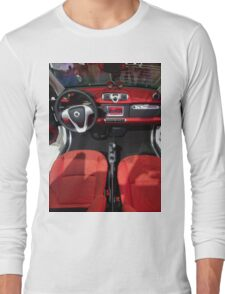 Smart ForTwo Turbo Cabrio Tritop Inside [ Print & iPad / iPod / iPhone Case ] Long Sleeve T-Shirt